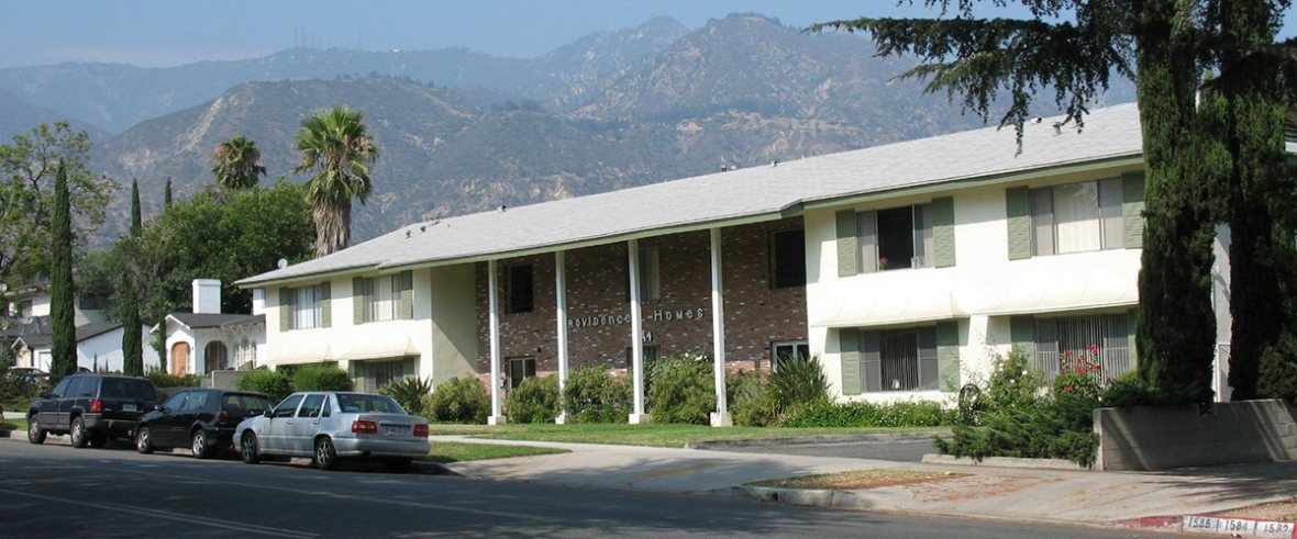 Providence Mission Homes provides fully furnished 2  or 3  bedroom apartment  units in Pasadena  California  Rents are far below market rates. Providence Mission Homes